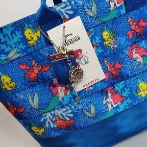 Harveys Disney The Little Mermaid Tote Bag Purse